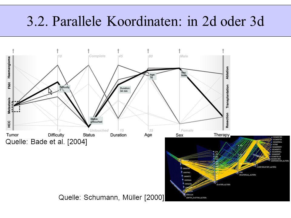 3.2. Parallele Koordinaten: in 2d oder 3d