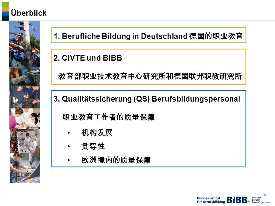 1. Berufliche Bildung in Deutschland 德国的职业教育