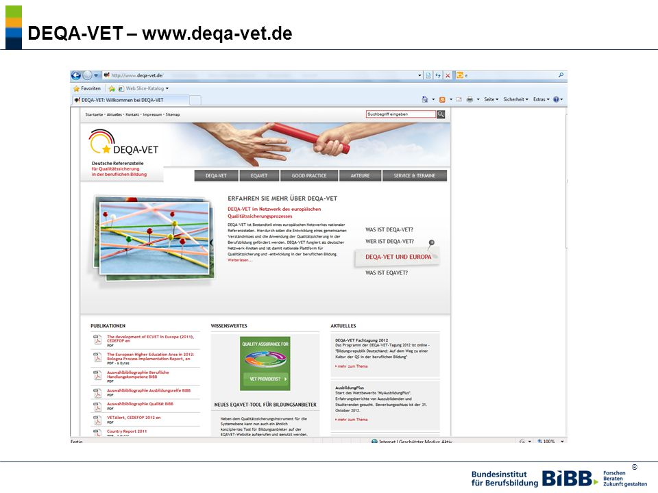 DEQA-VET – www.deqa-vet.de
