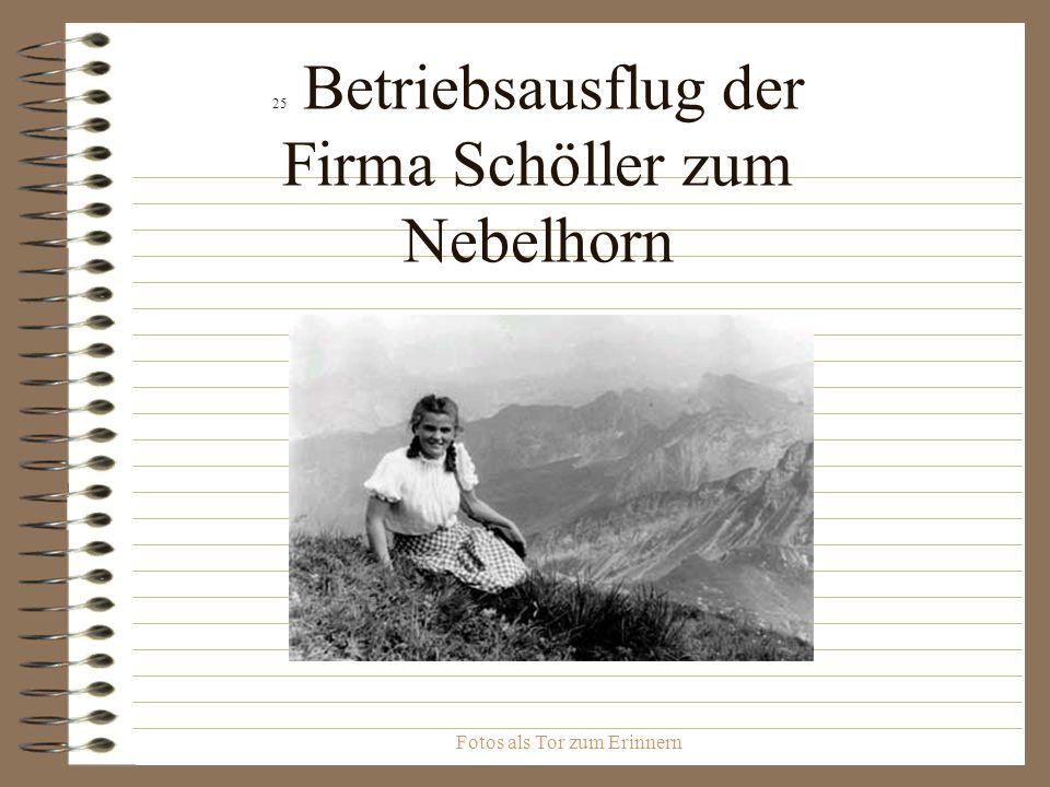 25 Betriebsausflug der Firma Schöller zum Nebelhorn