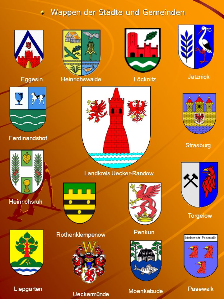 Wappen der Städte und Gemeinden