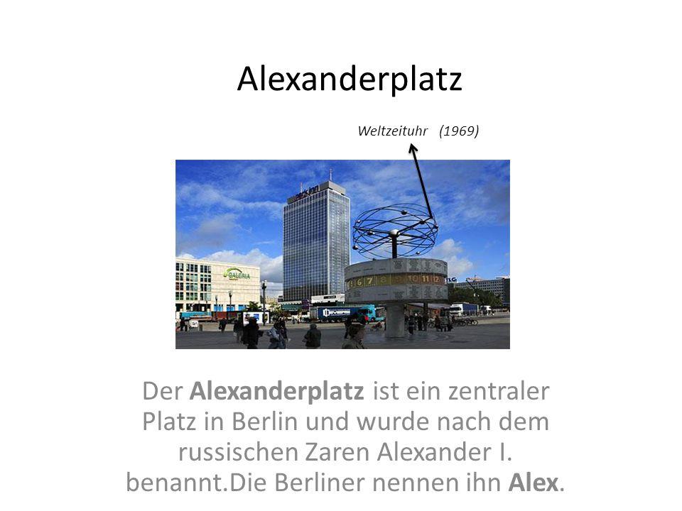 Alexanderplatz Weltzeituhr (1969)