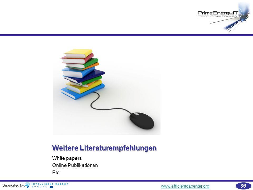 Weitere Literaturempfehlungen
