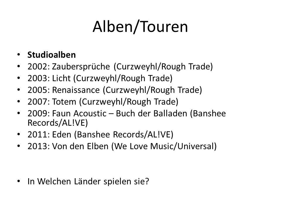 Alben/Touren Studioalben 2002: Zaubersprüche (Curzweyhl/Rough Trade)