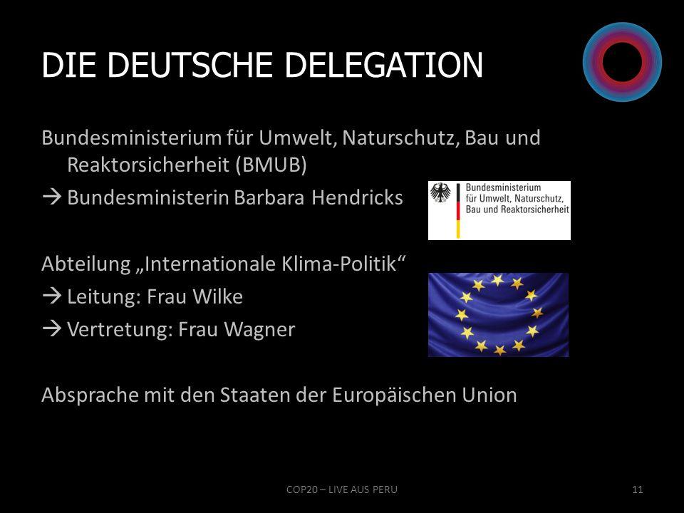 Die deutsche Delegation