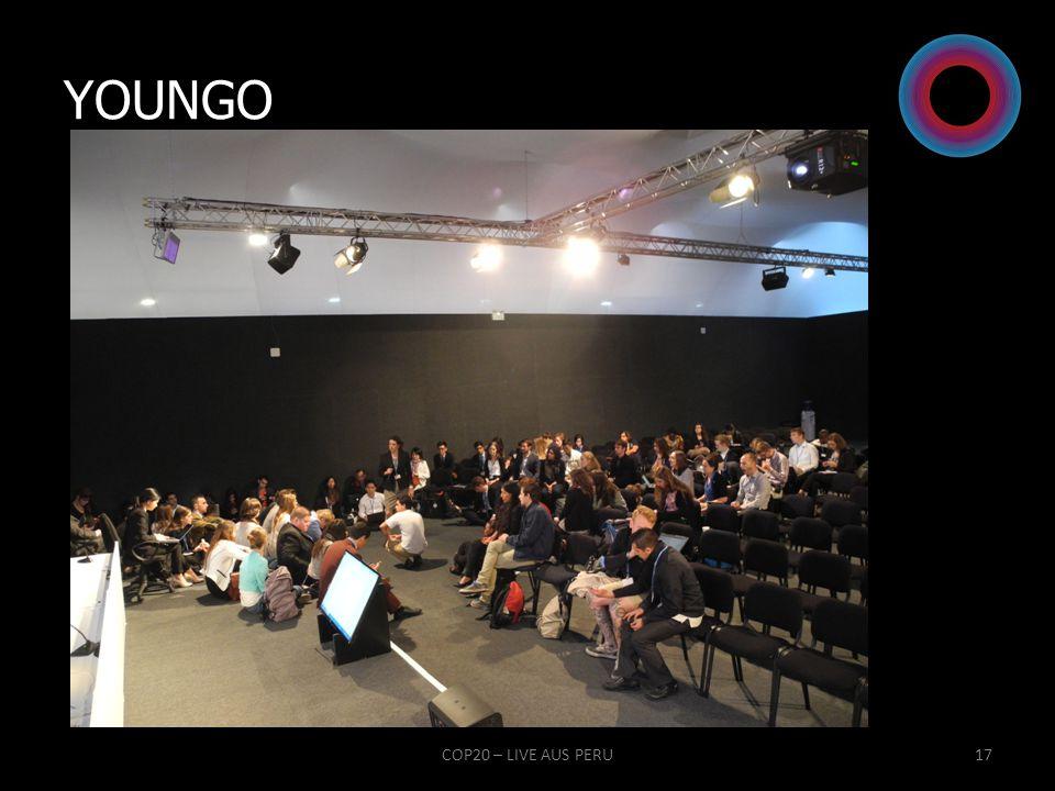 YOUNGO COP20 – LIVE AUS PERU