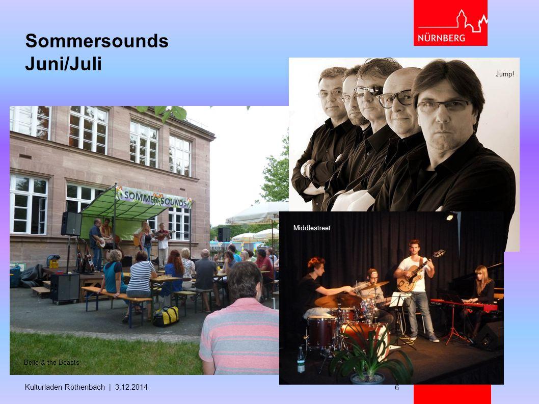 Sommersounds Juni/Juli