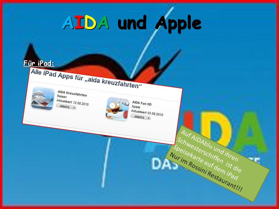 AIDA und Apple Für iPad: