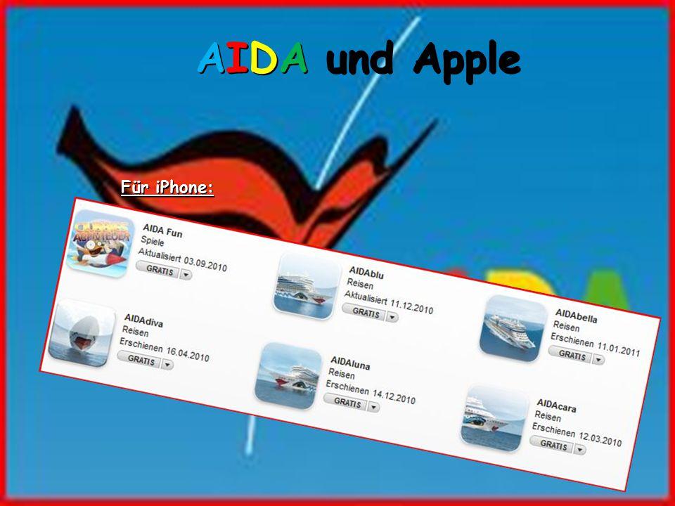 AIDA und Apple Für iPhone: