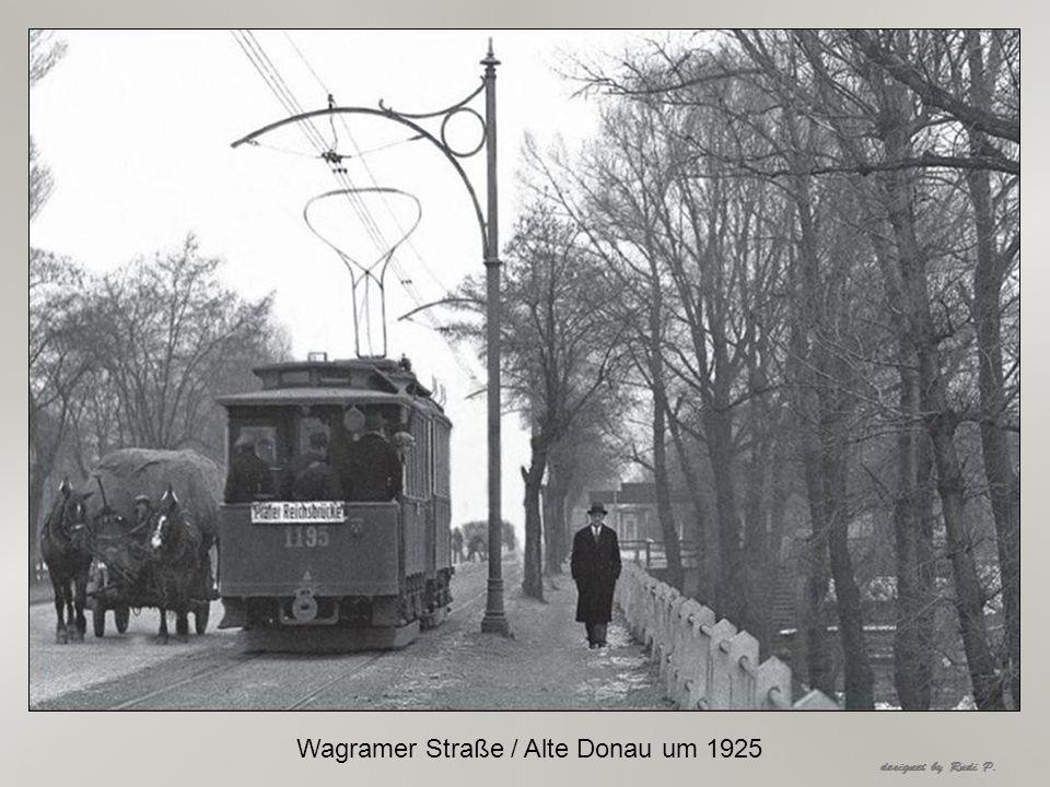Wagramer Straße / Alte Donau um 1925