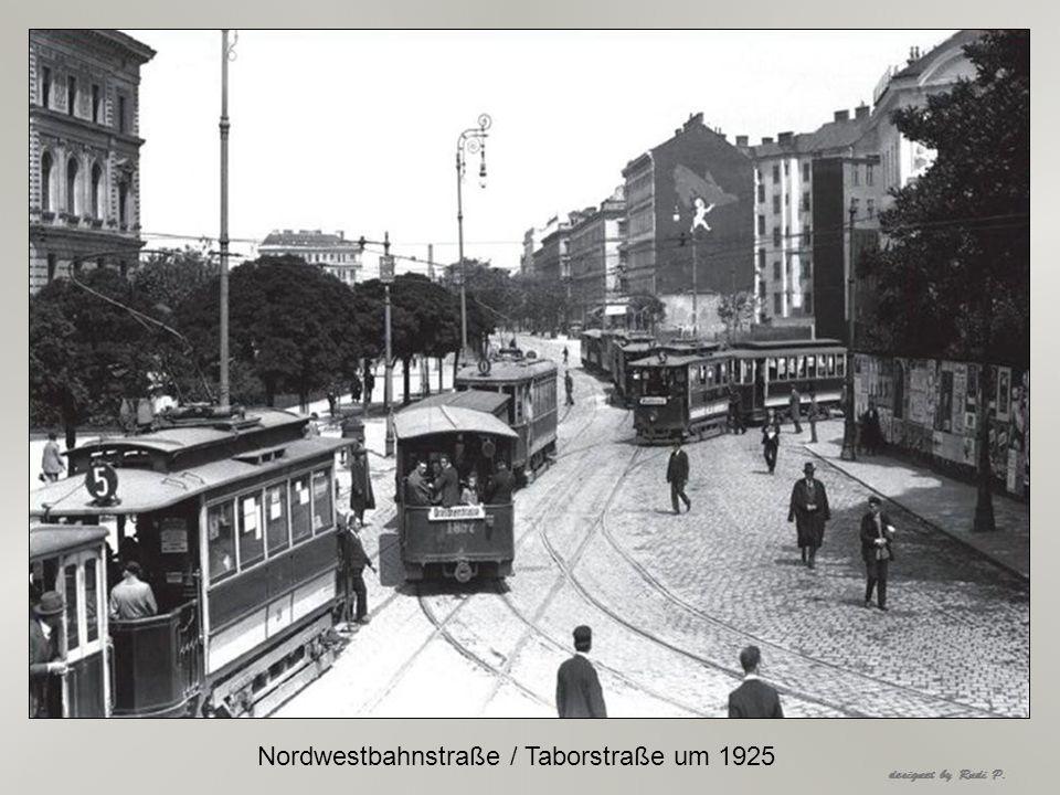 Nordwestbahnstraße / Taborstraße um 1925