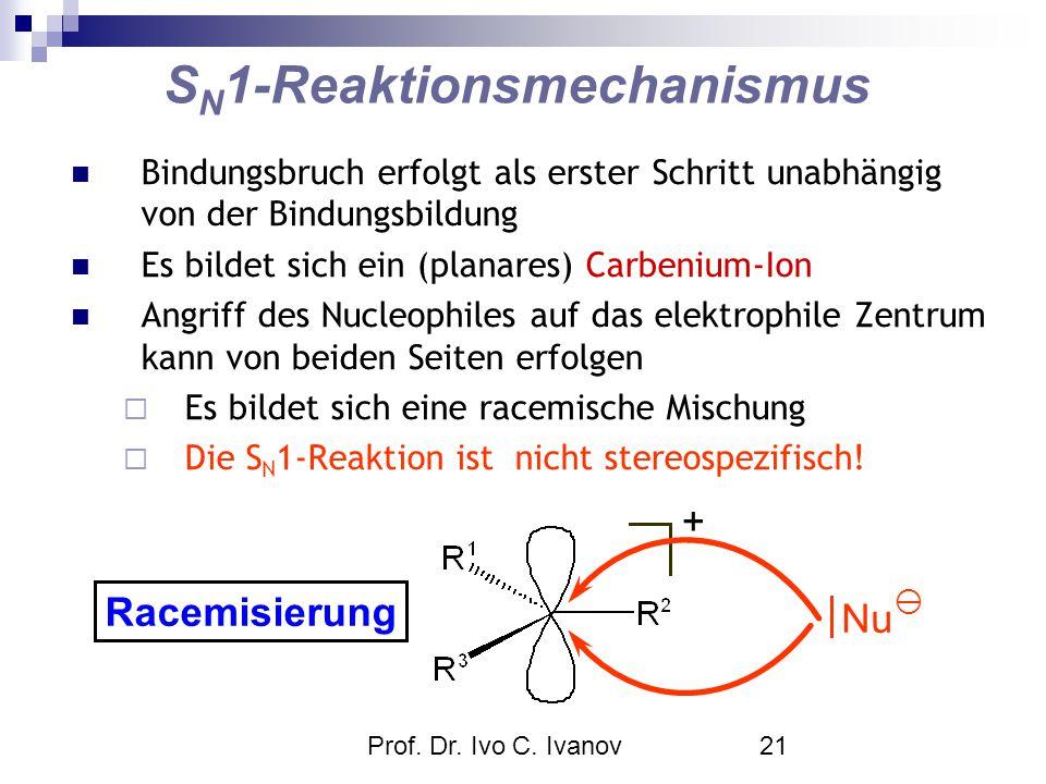 SN1-Reaktionsmechanismus