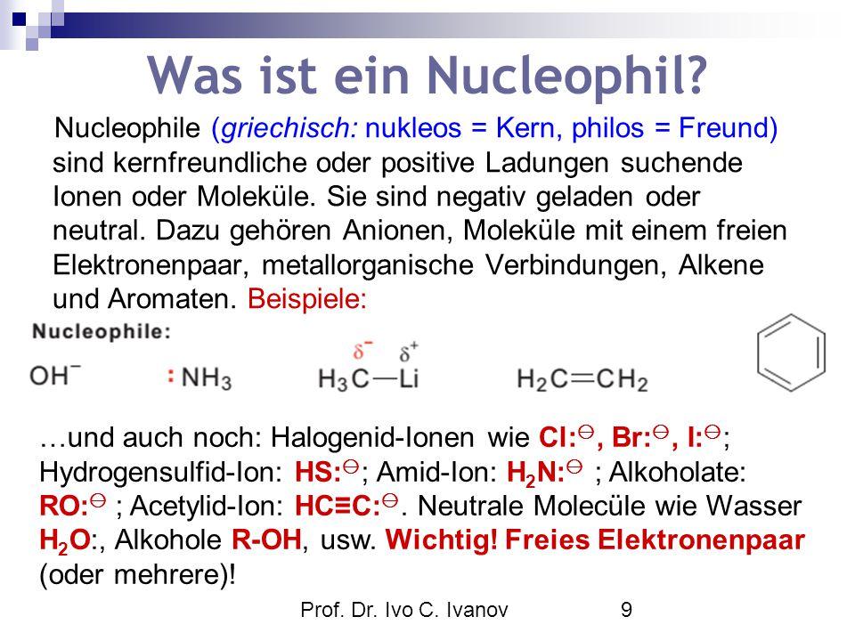 Was ist ein Nucleophil