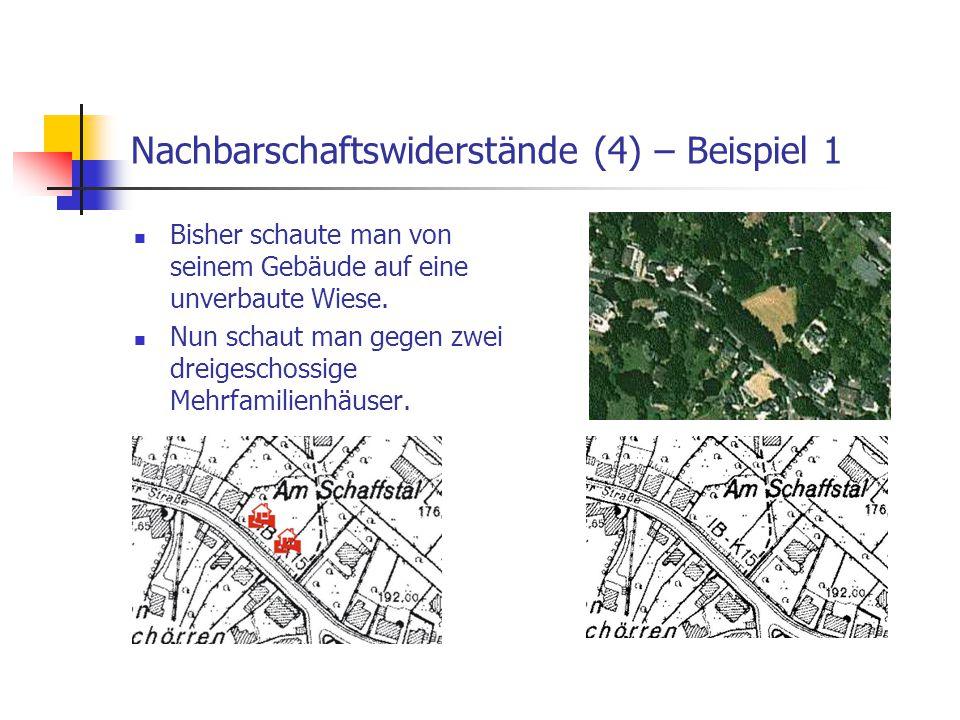 Nachbarschaftswiderstände (4) – Beispiel 1