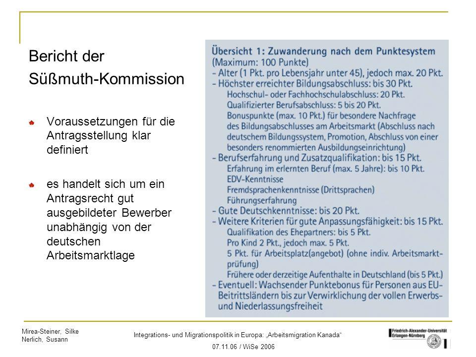 Bericht der Süßmuth-Kommission