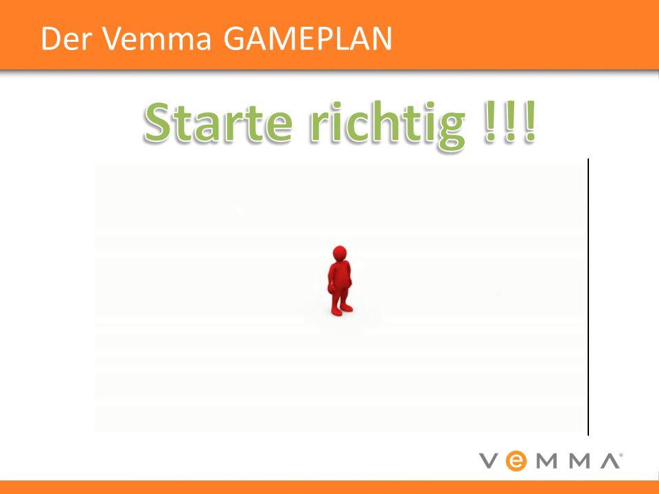 Der Vemma GAMEPLAN Starte richtig !!!