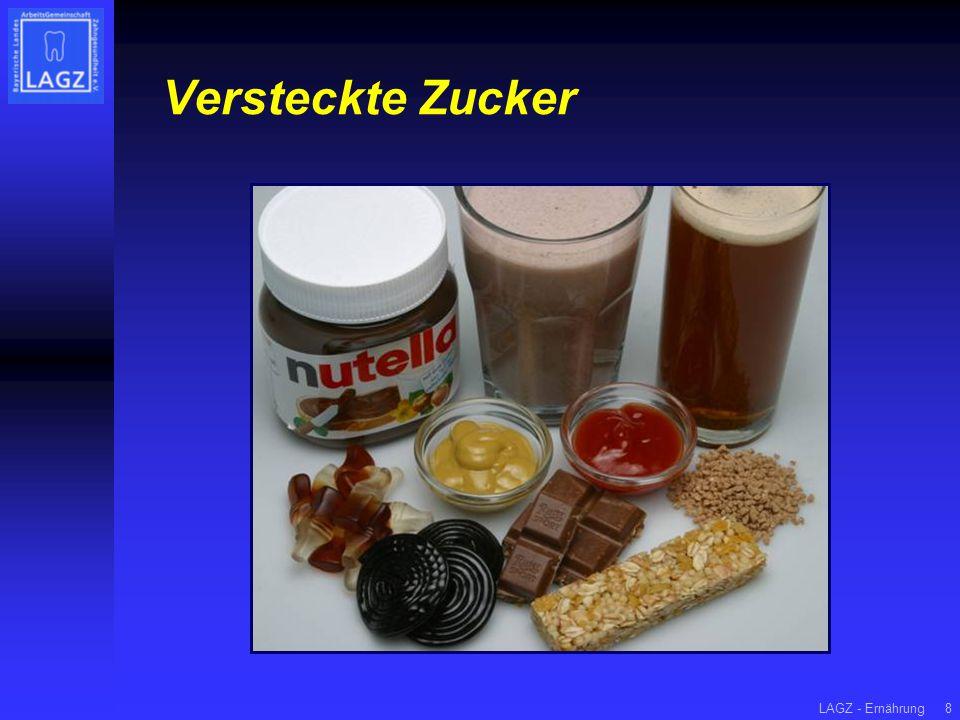 Versteckte Zucker LAGZ - Ernährung