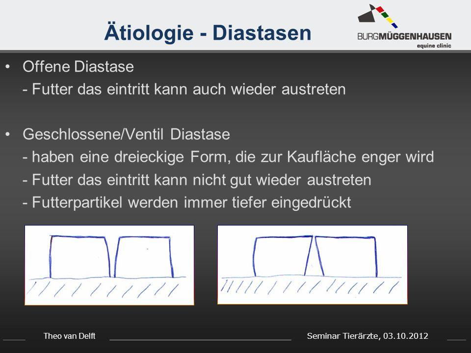 Ätiologie - Diastasen Offene Diastase