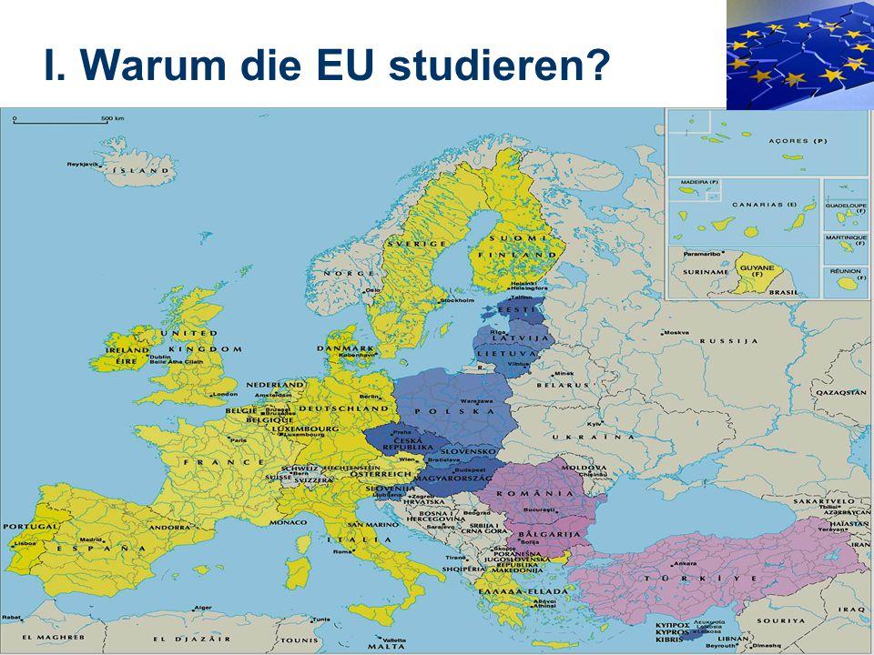 I. Warum die EU studieren