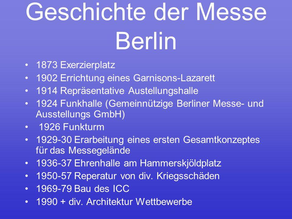 Geschichte der Messe Berlin