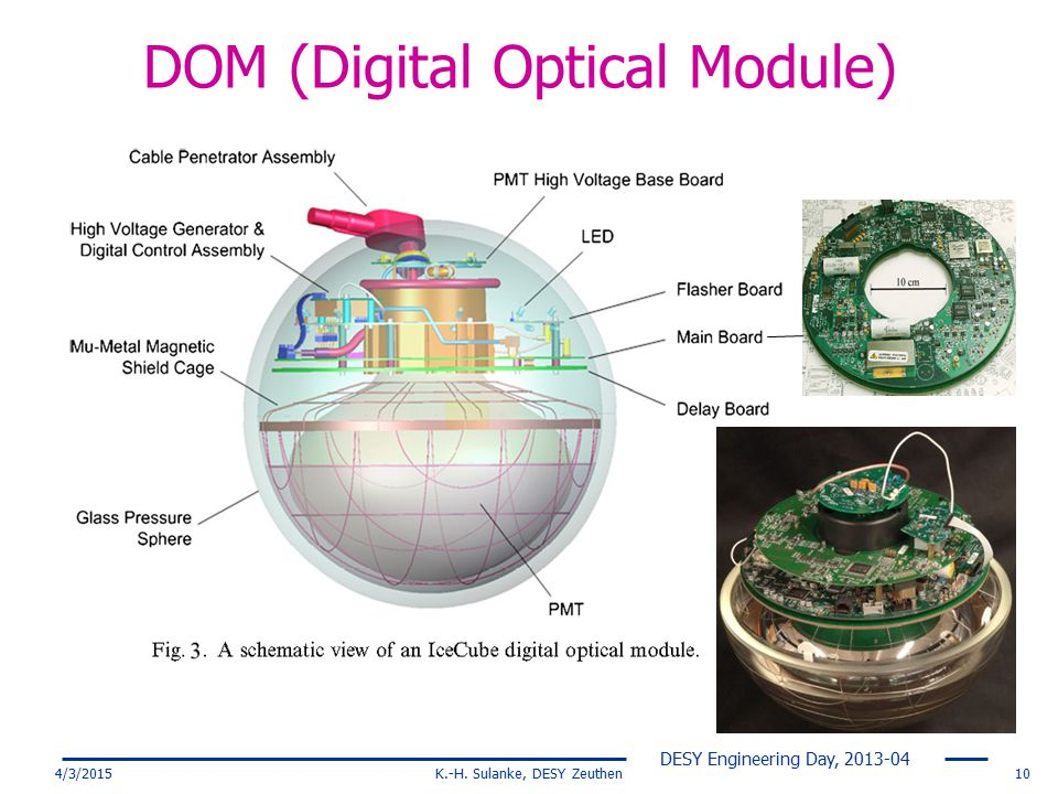 DOM (Digital Optical Module)