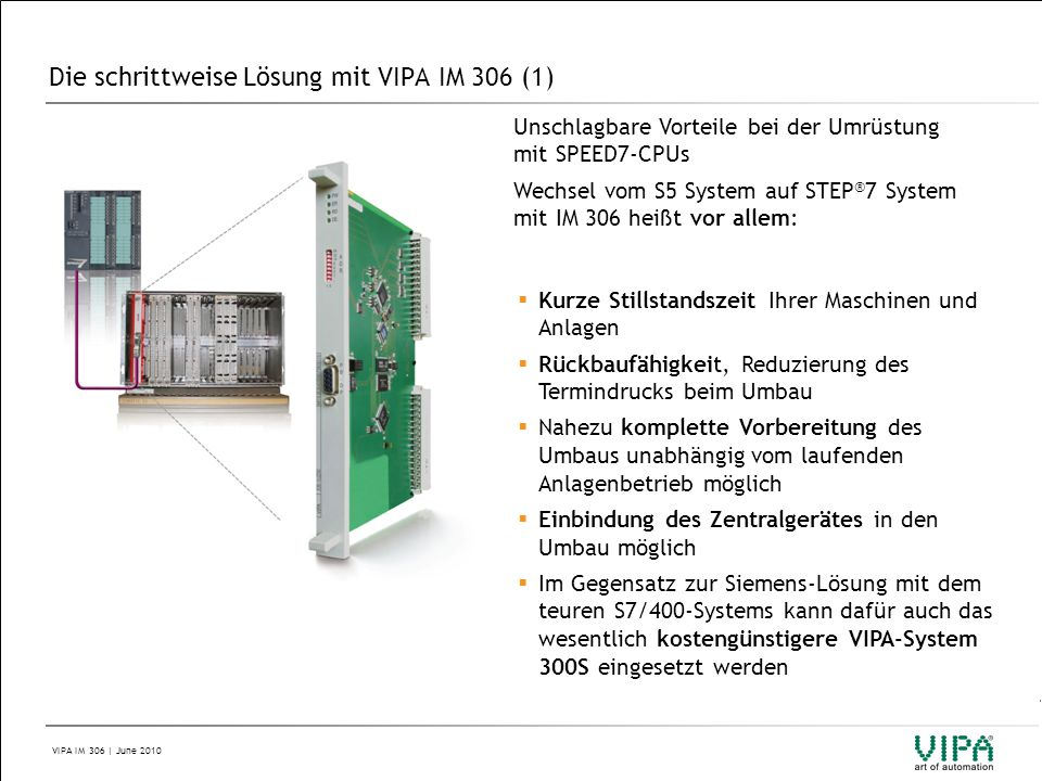 Die schrittweise Lösung mit VIPA IM 306 (1)