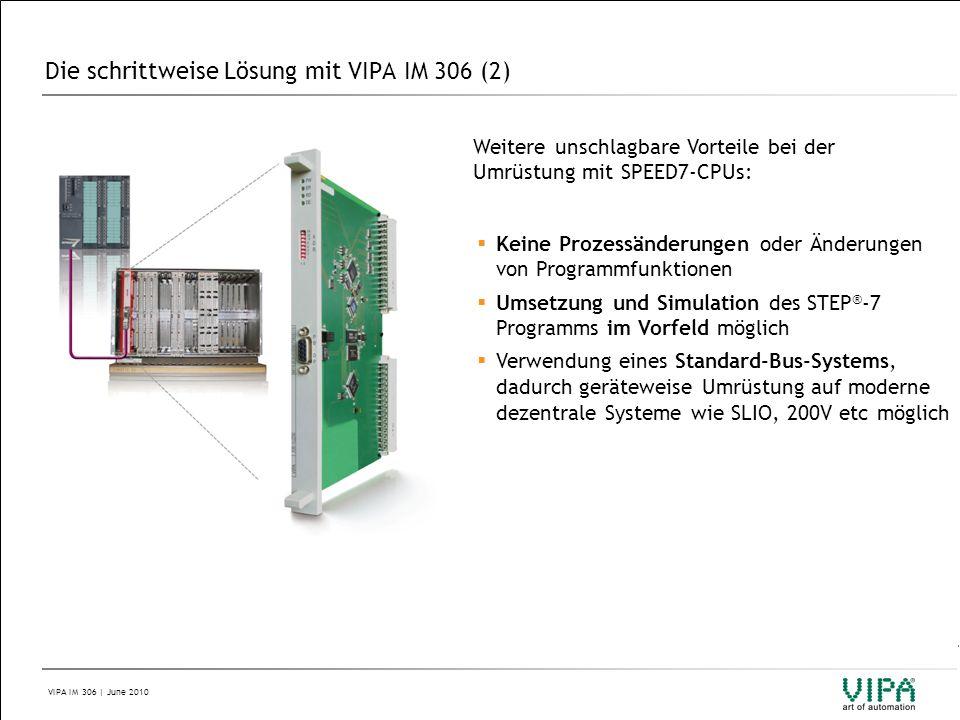 Die schrittweise Lösung mit VIPA IM 306 (2)