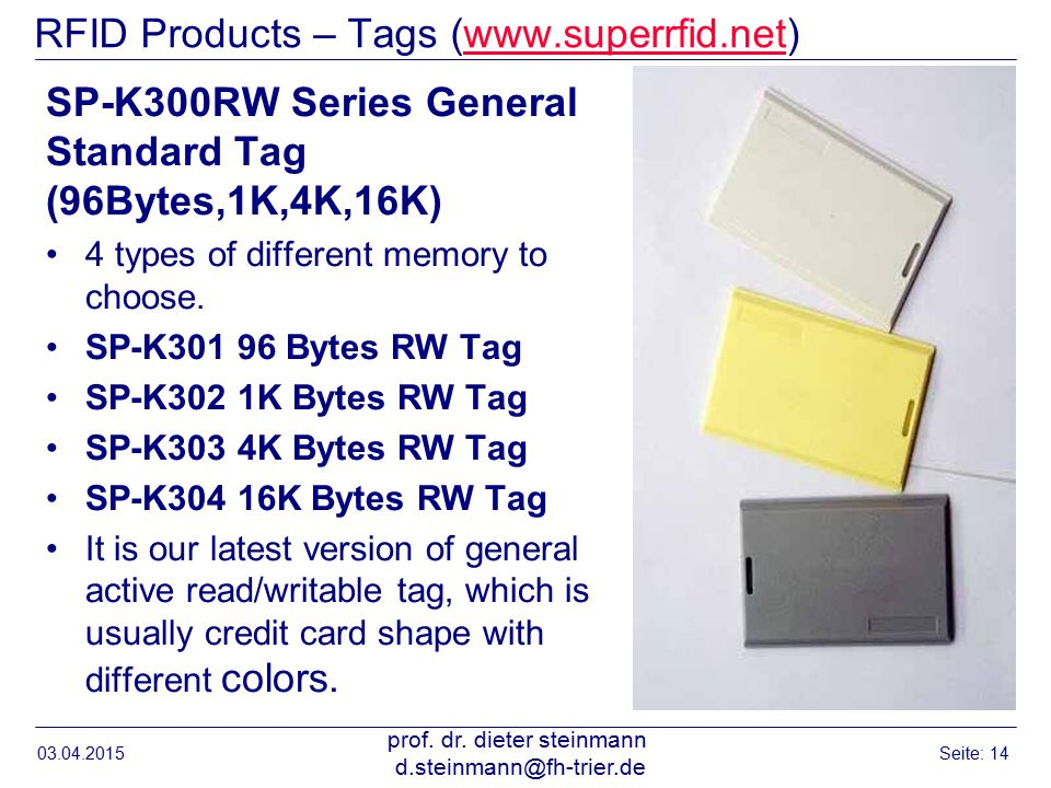RFID Products – Tags (www.superrfid.net)