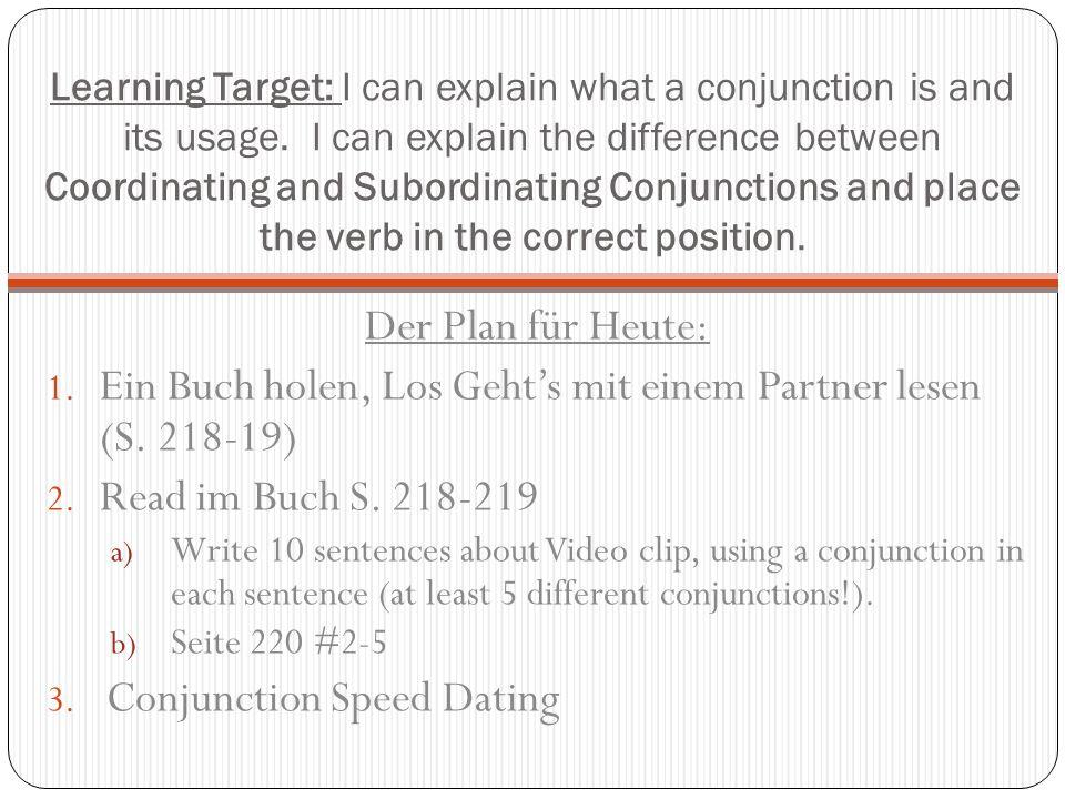 Ein Buch holen, Los Geht's mit einem Partner lesen (S. 218-19)