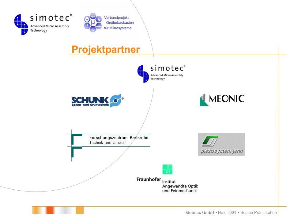 Projektpartner Forschungszentrum Karlsruhe Technik und Umwelt