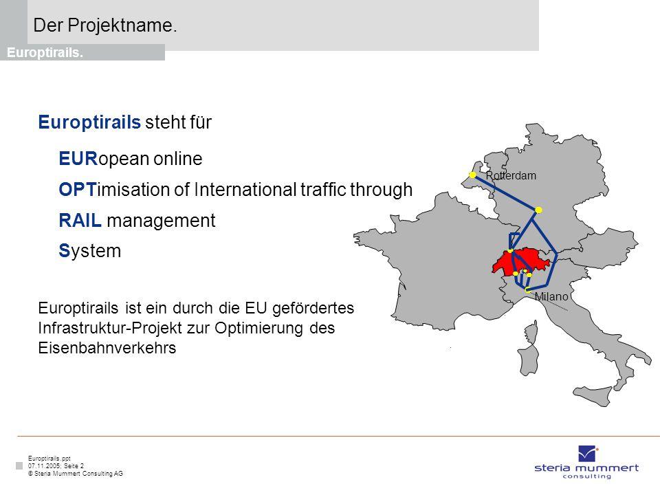 Europtirails steht für