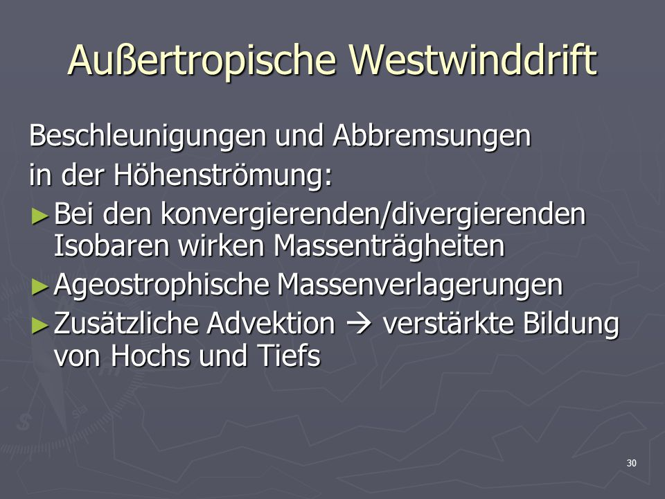 Außertropische Westwinddrift