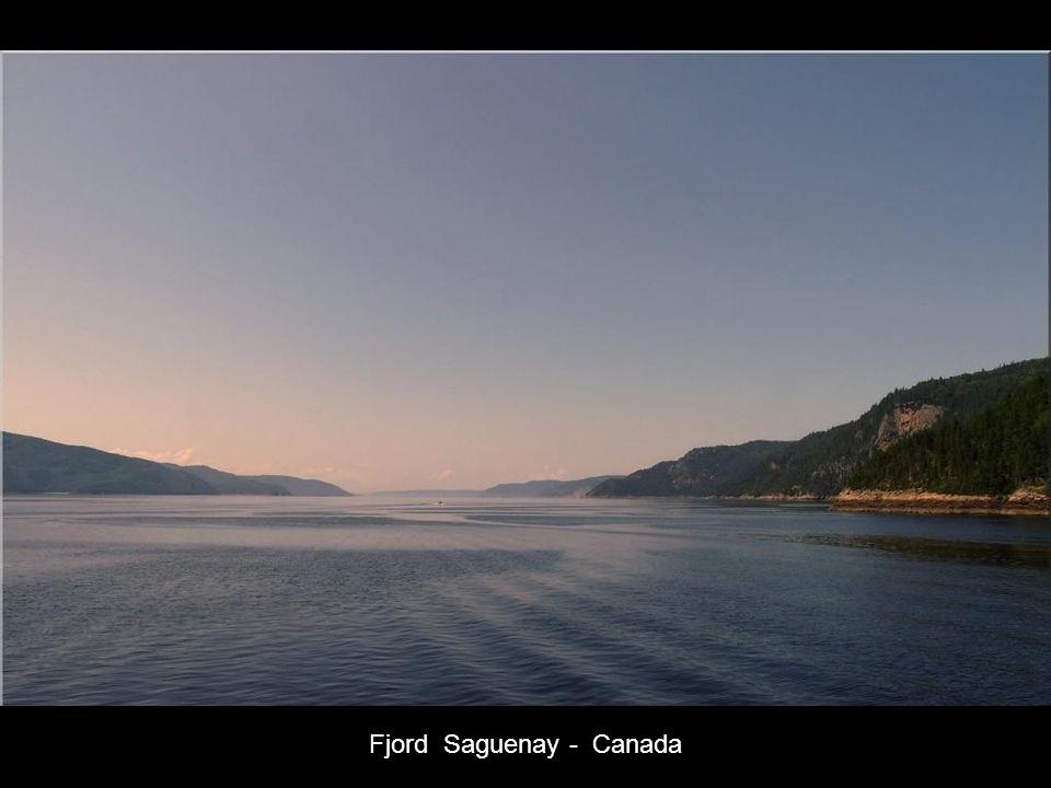 Fjord Saguenay - Canada