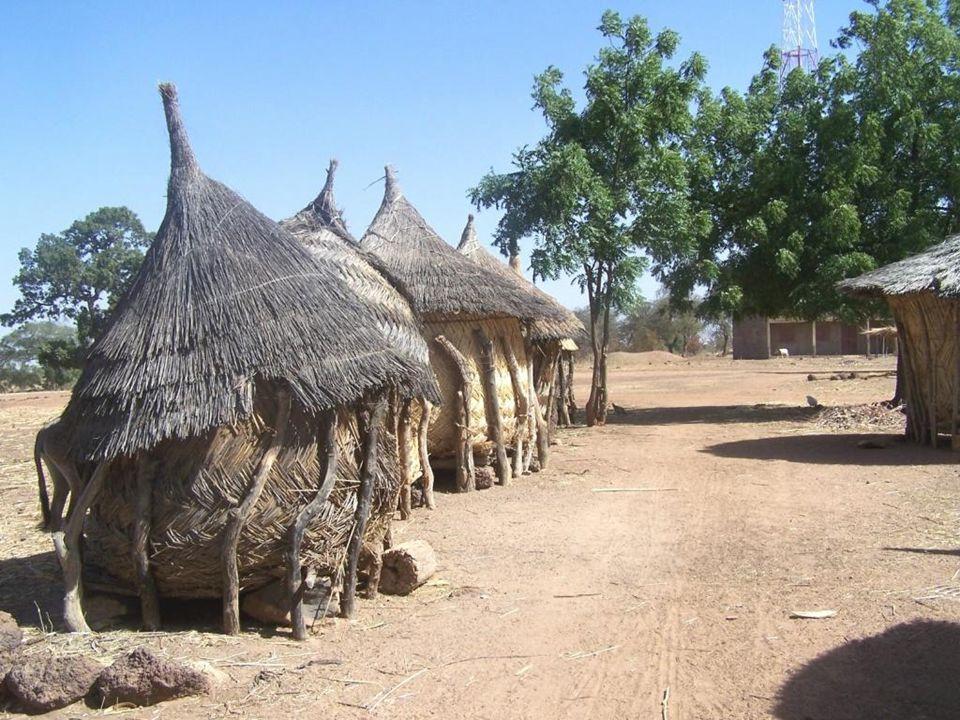 Hirsespeicher- Burkina Faso