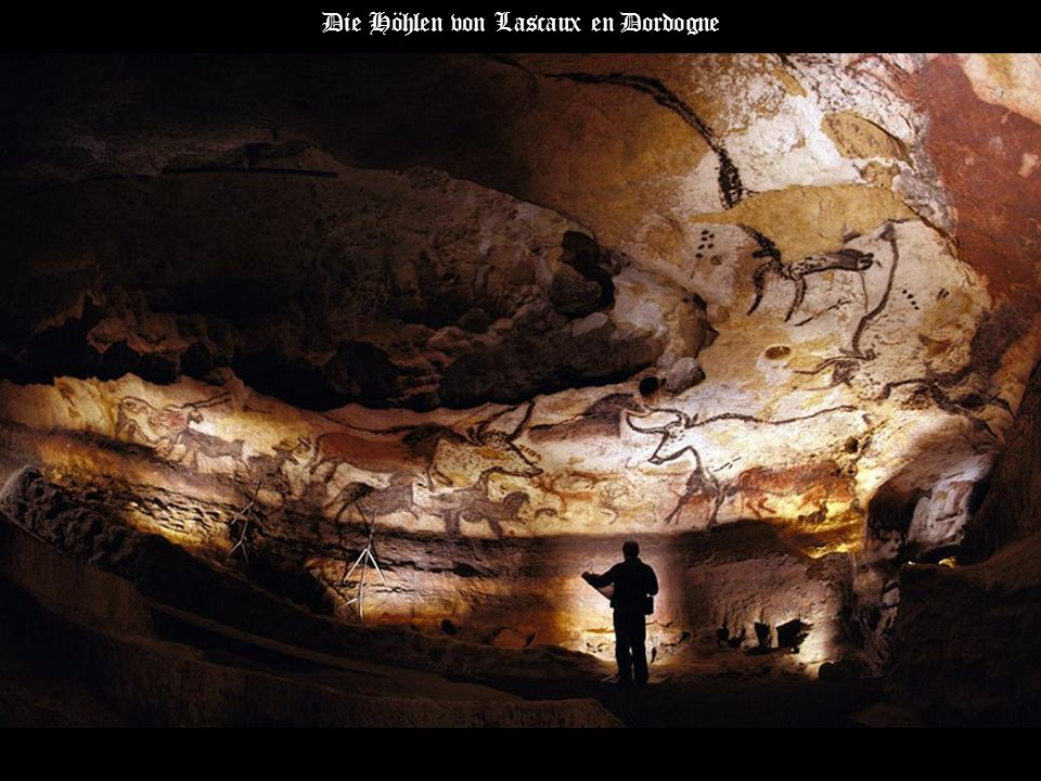 Die Höhlen von Lascaux en Dordogne