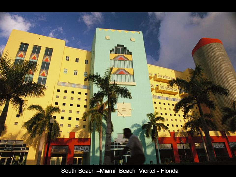South Beach –Miami Beach Viertel - Florida
