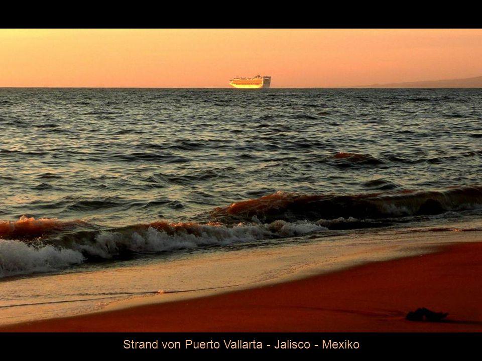 Strand von Puerto Vallarta - Jalisco - Mexiko