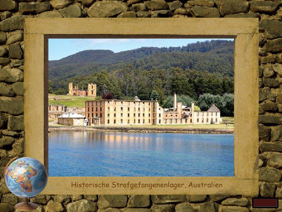 Historische Strafgefangenenlager, Australien
