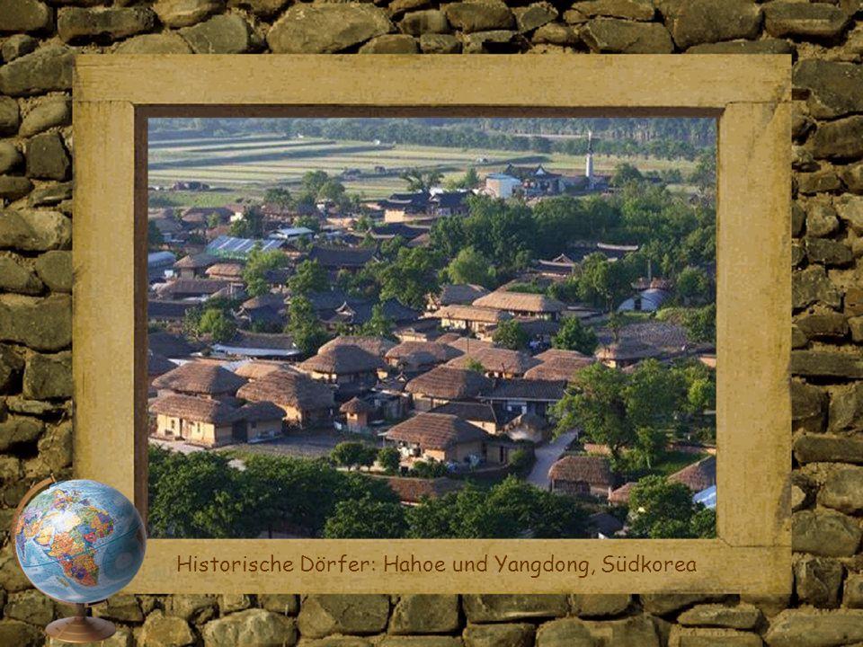 Historische Dörfer: Hahoe und Yangdong, Südkorea