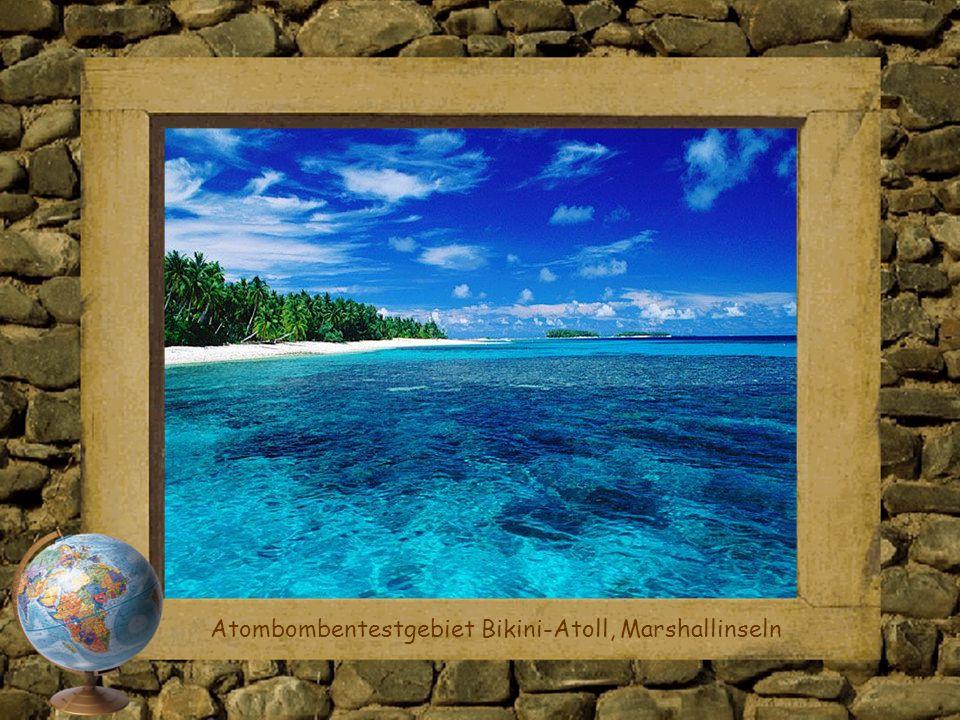 Atombombentestgebiet Bikini-Atoll, Marshallinseln