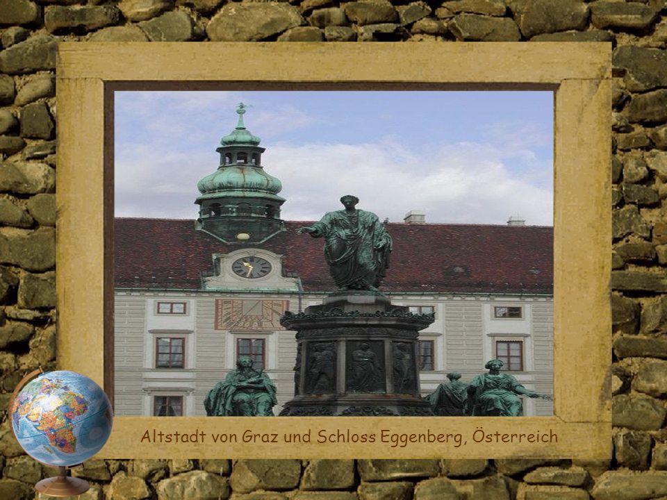 Altstadt von Graz und Schloss Eggenberg, Österreich