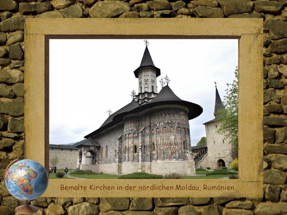 Bemalte Kirchen in der nördlichen Moldau, Rumänien