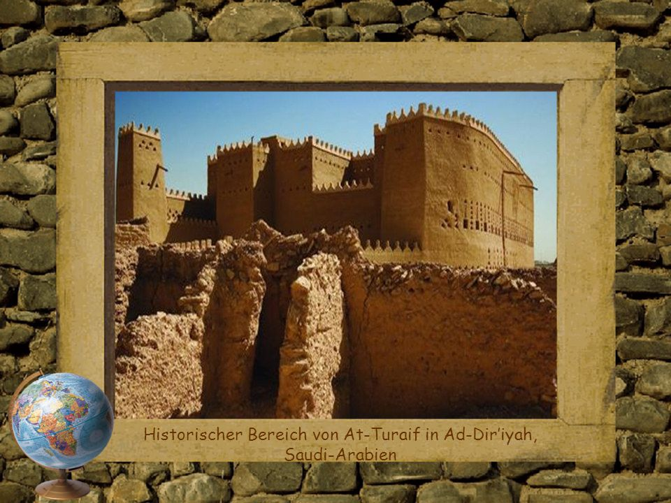 Historischer Bereich von At-Turaif in Ad-Dir'iyah, Saudi-Arabien