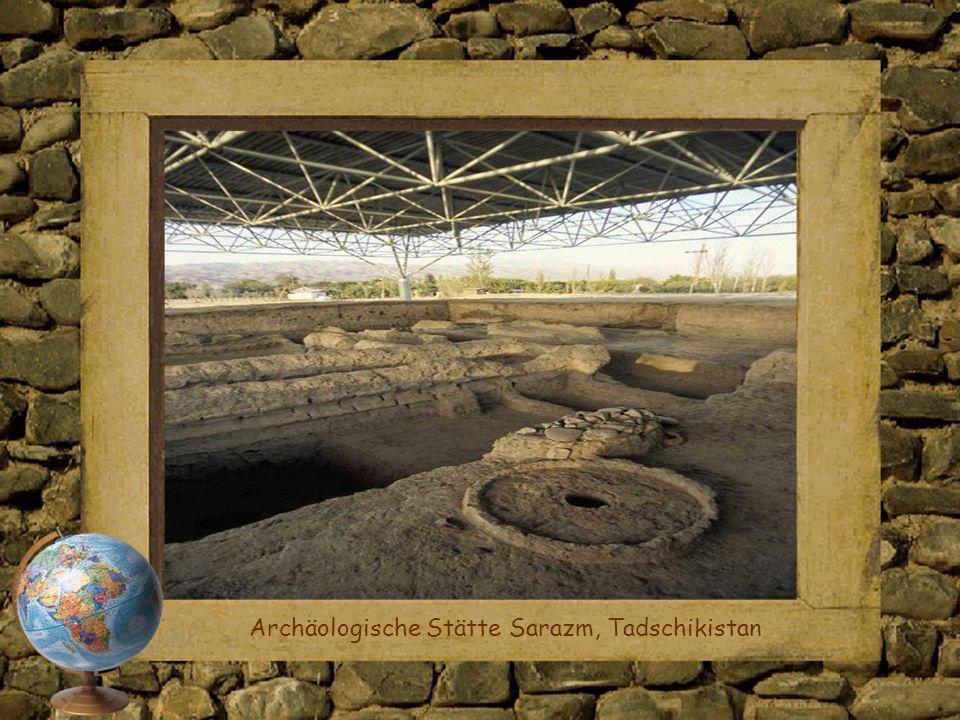 Archäologische Stätte Sarazm, Tadschikistan