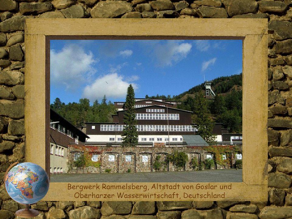 Bergwerk Rammelsberg, Altstadt von Goslar und Oberharzer Wasserwirtschaft, Deutschland