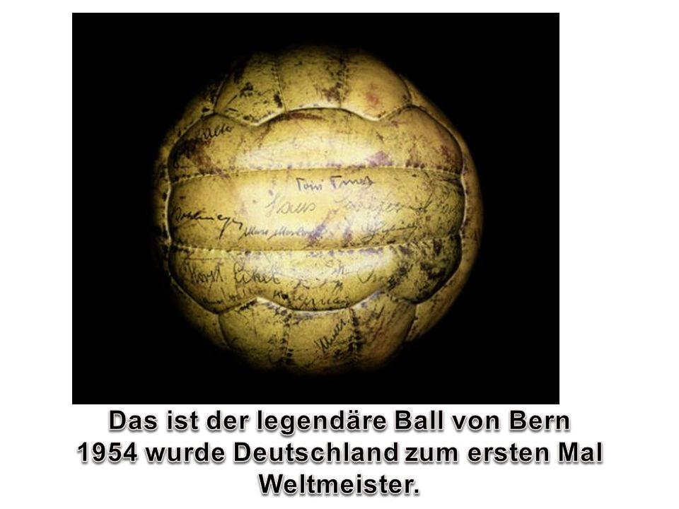 Das ist der legendäre Ball von Bern