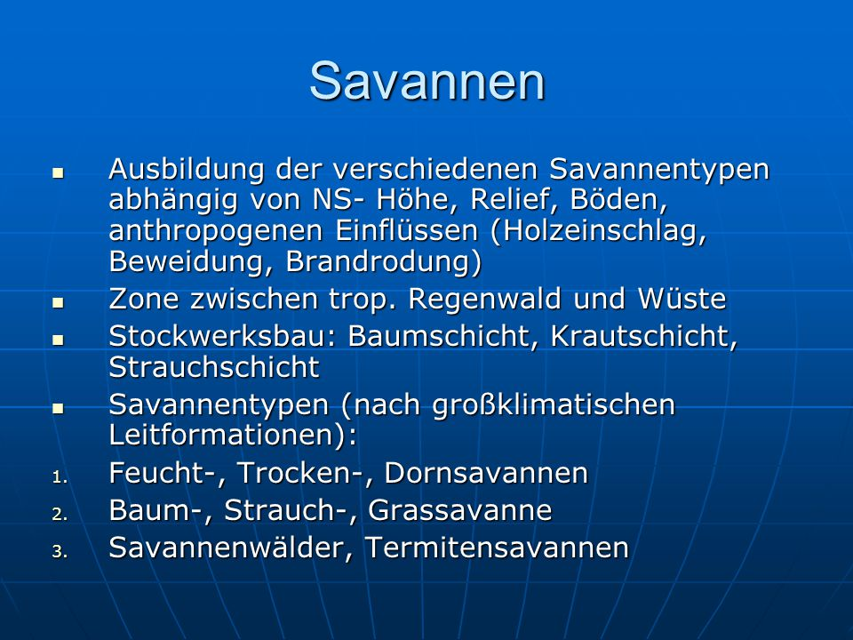 Savannen