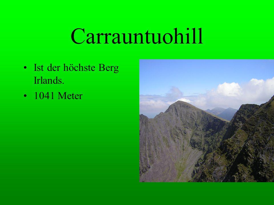 Carrauntuohill Ist der höchste Berg Irlands. 1041 Meter