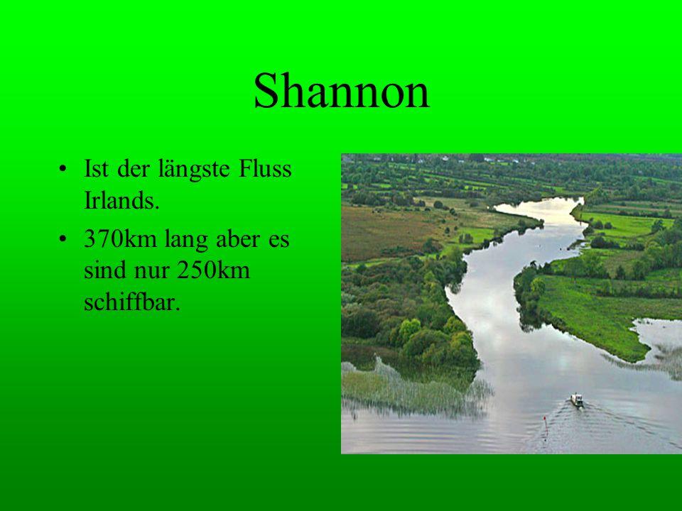 Shannon Ist der längste Fluss Irlands.