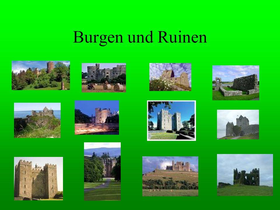 Burgen und Ruinen